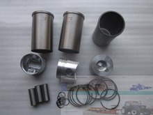 Laidong the KM385BT set of piston group, including the piston, piston rings, cylinder liners and piston pin and circlips