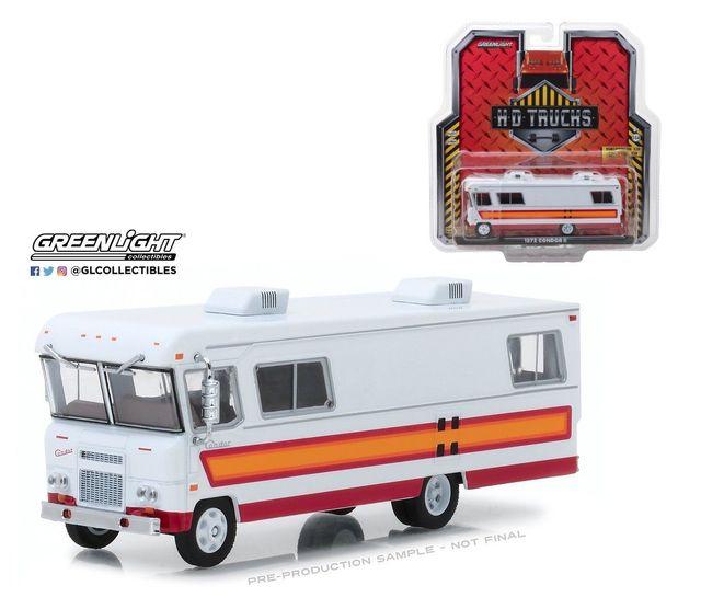 Us 34 8 Green Light 1 64 Hd Trucks 1972 Condor Ii Motorhome Rv Alloy Toy Car Toys For Children Diecast Model Car Birthday Gift In Diecasts Toy