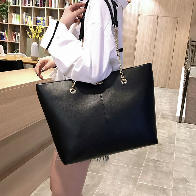 Women pu Leather women Handbags Female Shoulder bag designer Luxury Lady Tote Large Capacity Zipper shoulder bag
