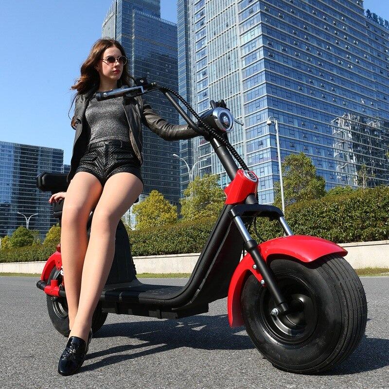 Tricycle électrique de passager de roue de chariot au lithium de scooter de motos électriques