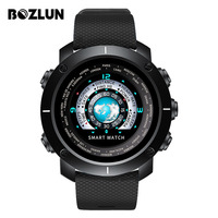 Bozlun 2018 New Smart Digital Watch Man HeartRate Calories Remote Camera Waterproof Wristwatch Fashion Watch Relogio Masculino