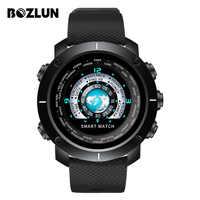 Bozlun New Smart Digital Watch Man HeartRate Calories Remote Camera Waterproof Wristwatch Fashion Watch Relogio Masculino W30