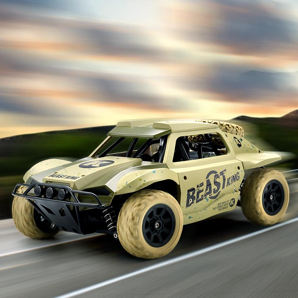 RC coche corto 1/18 camión 4WD 25 KM/H de alta velocidad de deriva coche de Control remoto de Radio controlado máquina de carreras de coches de juguete regalos de navidad