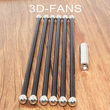 6pcs Was Installed Kossel Delta Kossel 5x3/6x4mm 18/20cm Magnetic Bracket Fiber Carbon Rod Parallel Arm for Mini 5347 For K800(China)