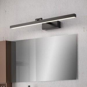 Image 3 - Moderno led banheiro vaidade espelho de parede luz montado armário industrial quarto lâmpada cabeceira maquiagem lâmpada parede luminárias
