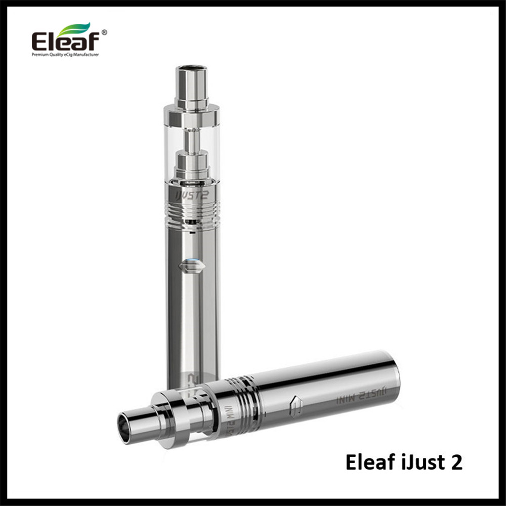 Authentic font b Best b font Selling Eleaf iJust 2 Starter Kit with ijust 2 atomizer