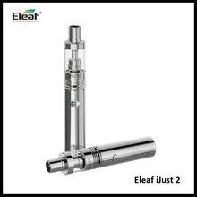 Genuine Best Selling Eleaf iJust 2 Starter Kit with ijust 2 atomizer 5.5 ml and 2600 mAh Battery Just 2 Vaporizer Kit