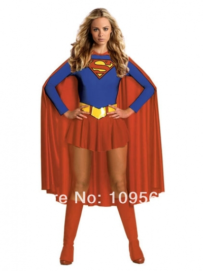 kostenloser versand damen super hero frau kost m halloween superheld kost m. Black Bedroom Furniture Sets. Home Design Ideas