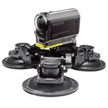 גודל גדול רכב חלון היניקה גביע הר עבור עבור Sony פעולה מצלמת HDR AS20 AS50 AS100V AS30V AZ1 AS200V AS300R FDR X1000V X3000R