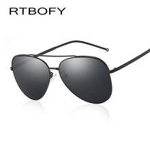 RTBOFY PROJETO Homens Mulheres Clássicas Da Aviação óculos Polarizados  Condução Óculos De Sol de 100% de Proteção UV e23ddb9cde