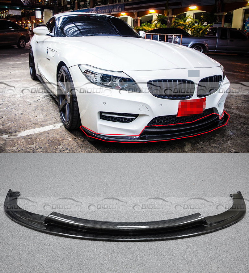 Bmw Z4 Splitter: Aliexpress.com : Buy Carbon Fiber 3D Style Auto Front Lip