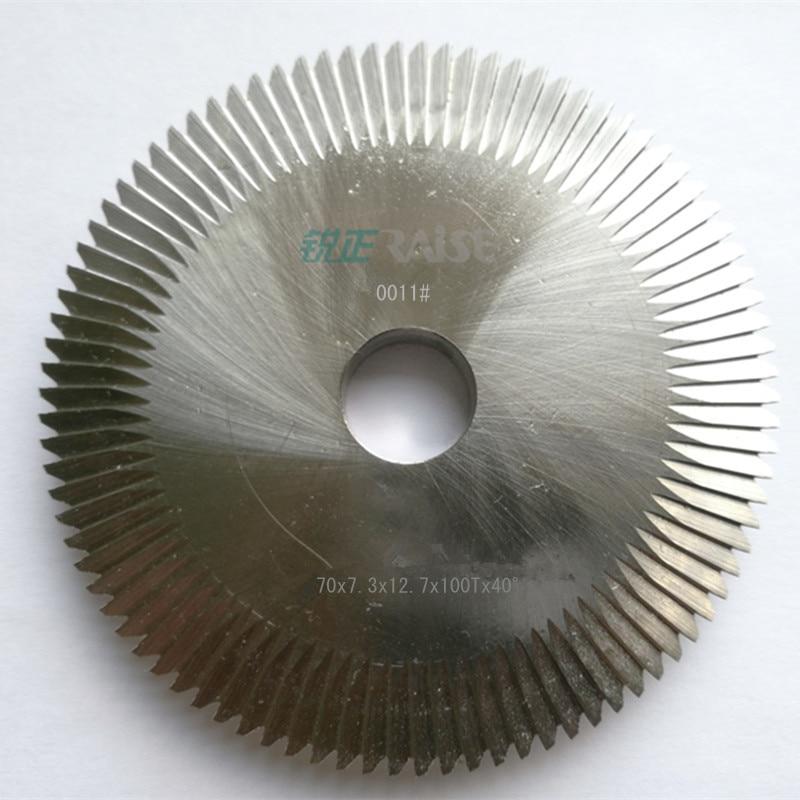 2pcs Milling cutter 0011 for Wenxing Key Cutting Machine 100D100E100E1100F100G101201C201D