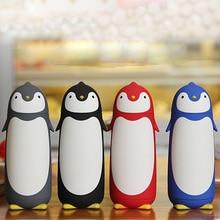 280 ml Pinguin inox Tasse Thermobecher Vakuumisolierung Flasche Thermos Cafe Kaffee Wasserflasche Becher Wasser Tee-kolben Kind geschenk