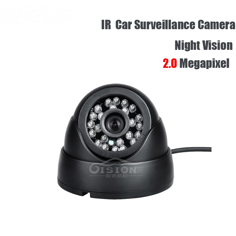 AHD 2.0MP Vehicle Camera,IR Night Vision Indoor Front School Bus Truck Camera For Car DVR Record Security Surveillance