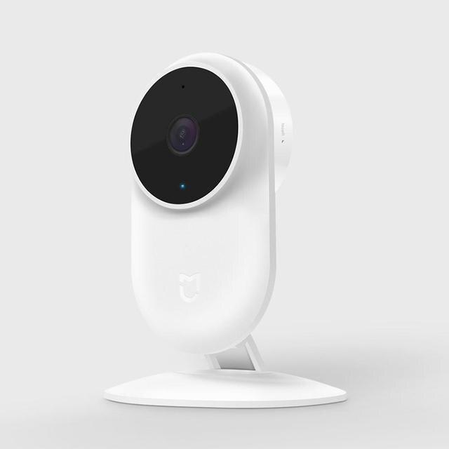 كاميرا آي بي ذكية أصلية من شاومي Mijia 1080P 2.4G & 5.0G لاسلكية تعمل بالواي فاي بزاوية واسعة 130 متر رؤية ليلية كشف هرمي 10 متر