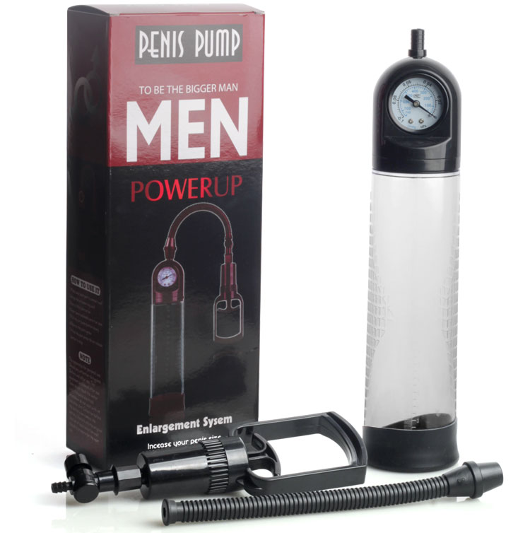 Penis Pump Penis Enlargement with Gauge,Vacuum pump penis Extender/Enhancer  / Erection Helper For men,Proextender Enlarger penis