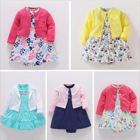 Baby Favorite 2018 New Design Hot Sale Baby Girl Shirt Piece Body Clothes Maker Spring Summer