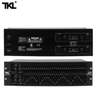 TKL 2231 professional equalizer EQ balance mixer dual 3U balanced noise reduction effect Audio Processor For Stage DJ
