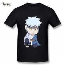 Mitsuki Chibi Shinobi Tees  Uzumaki Naruto T Shirt NARUTO Male Geek Streetwear For Boy O-neck naruto to boruto shinobi striker ps4