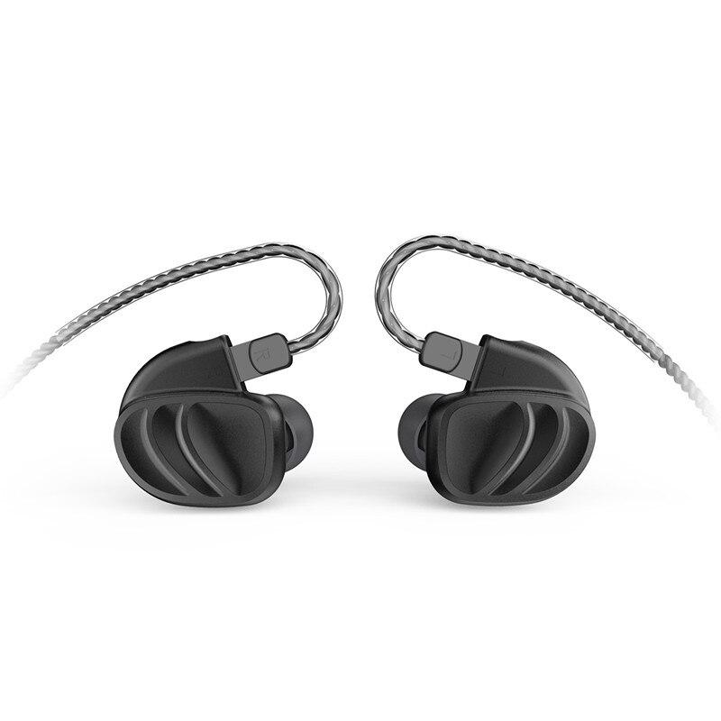 BQEYZ KC2 Dans L'écouteur D'oreille 2BA + 2DD Hybride Lecteur de Course écouteurs de sport Boules Quies Casque 2Pin Amovible T2 \ ZST \ AS10