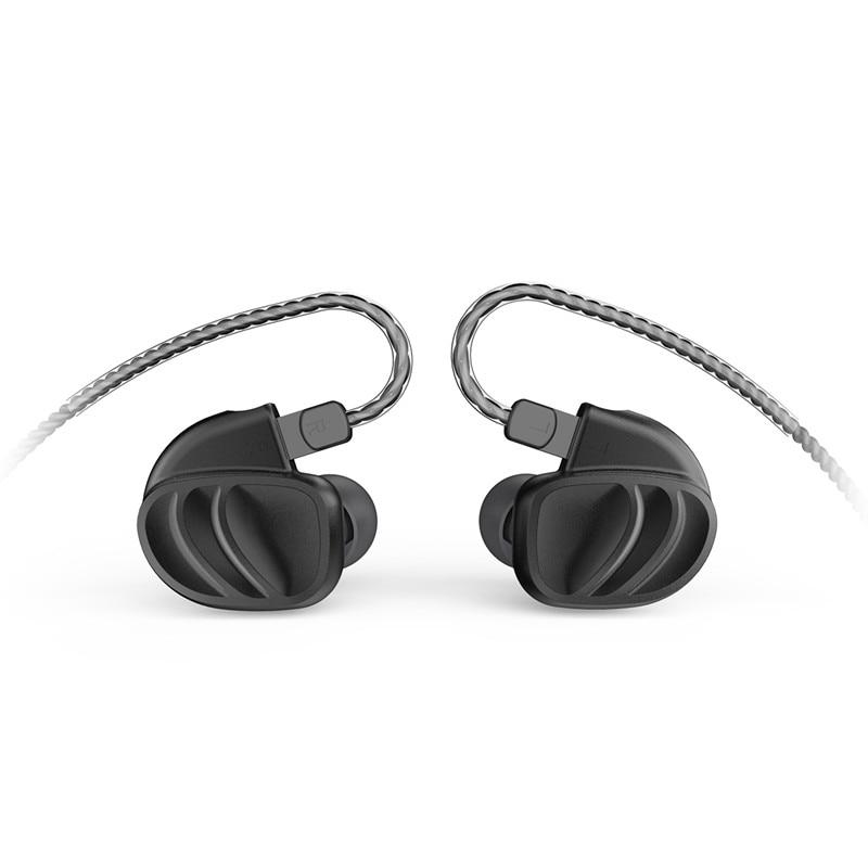BQEYZ KC2 dans l'oreille écouteur 2BA + 2DD hybride lecteur course Sport écouteur oreillette casque 2Pin détachable T2 \ ZST \ AS10