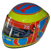 Карты шлем мотоциклетный шлем шлем стекла F-1a метр слово ярко-желтый зеленый синий