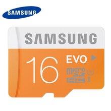 Samsung карты памяти 16 ГБ EVO Micro SD карты Class10 UHS-1 флэш-карты Карты памяти microsd для планшета смартфон Бесплатная доставка