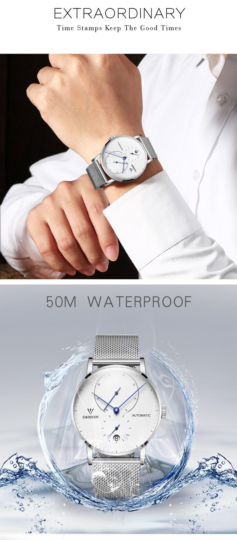 HTB1UrFJkVkoBKNjSZFkq6z4tFXaM CADISEN Top Mens Watches Top Brand Luxury Automatic Mechanical Watch Men Full Steel Business Waterproof Fashion Sport Watches