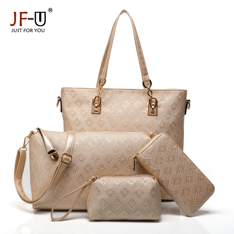 Fashion Brand JF-U Top-Handle Bags Handbags Women Famous Brands Bag Ladies Leather Women Messenger Bags Solid Shoulder Totel