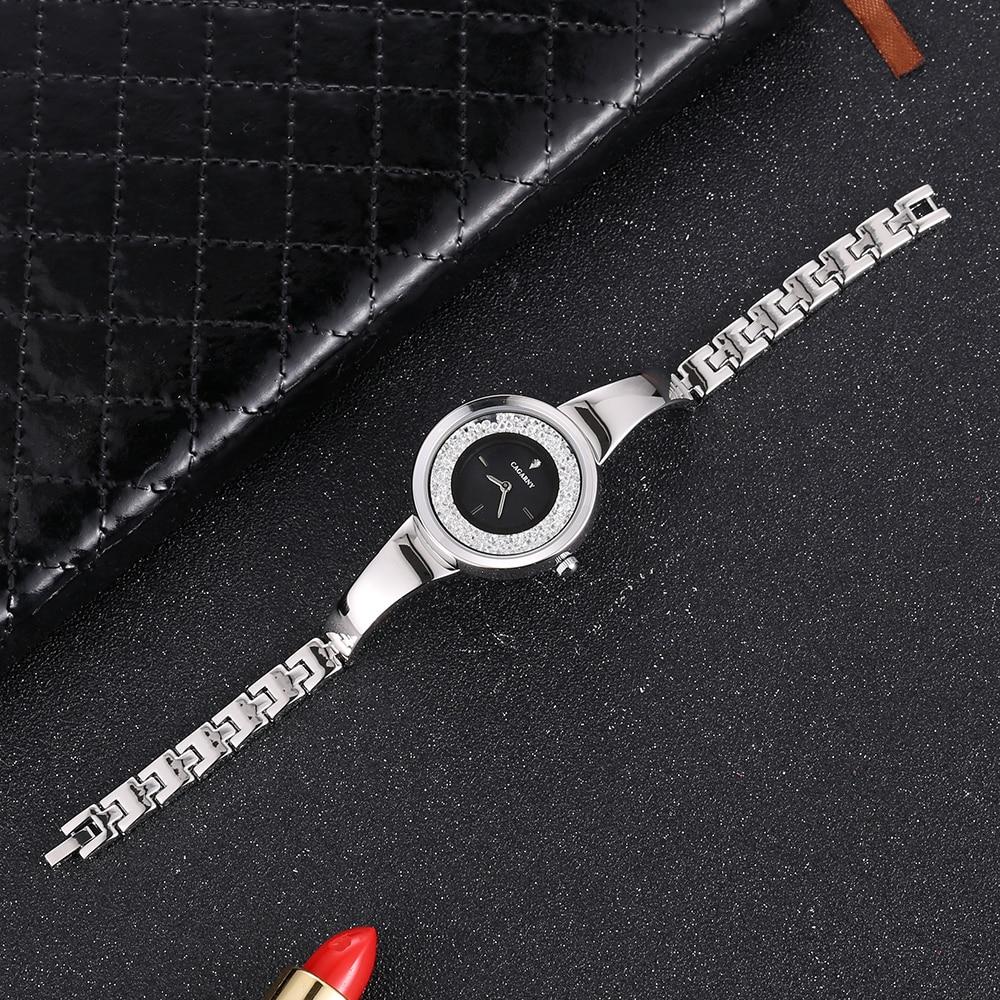 Stainless Steel bracelet bangle Watches Women Top Brand Luxury Casual Clock Ladies Wrist Watch Lady Relogio Feminino (4)
