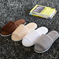 New Wholesale Luxury slippers woman man home hotel SPA massage salon indoor female male pantufla super soft house shoe footwear