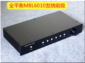 Image 1 - HiFi MBL6010 Full Balance Version Preamplifier Remote Control Preamp RCA/XLR Finished Preamplifier