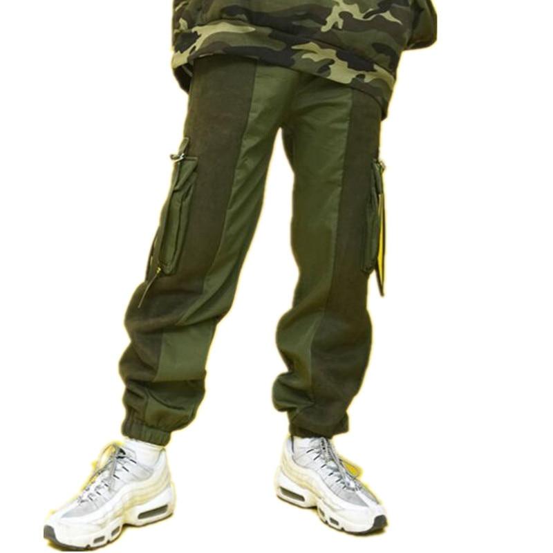 Invierno Problemas Calle Hombres Las Largos blue Los De Green Casual army La Pantalones Hip Black Cálido hop reds Mujeres Nueva Espesar Ropa Y5YPwOq