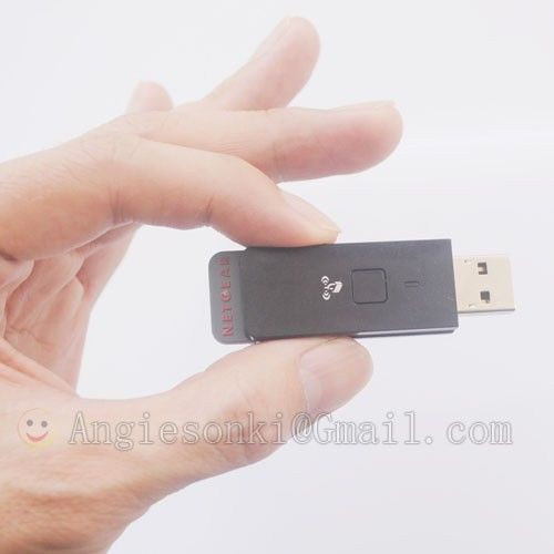 WNA1100 N150 Wireless Wifi Wlan Card 802.11 B/g /n 150 Mbps 2.4G NETGEAR USB Adapter Dongle For Windows 7, 8 XP Vista