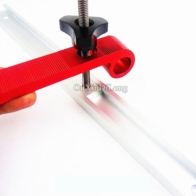 Vis en plastique + M8 Set de pince de maintien /à action rapide en m/étal T-Track Clamp