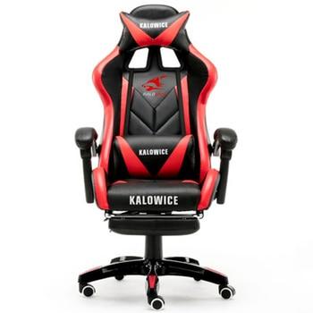 Neue Ankunft Racing Synthetische Leder Gaming Stuhl Internet Cafés