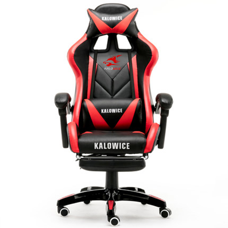 New ARRIVAL Racing synthetic หนังเก้าอี้อินเทอร์เน็ตคาเฟ่ WCG คอมพิวเตอร์เก้าอี้สบายโกหกครัวเรือนเก้าอี้