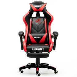 Nueva silla de juegos de cuero sintético de carreras para ordenador WCG