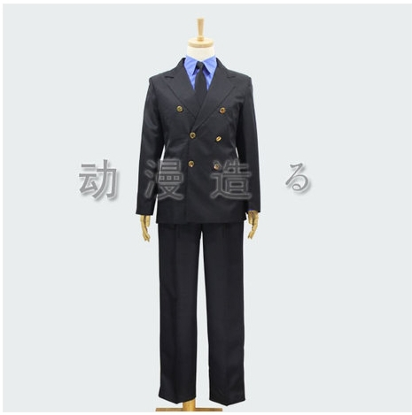 new anime One piece Sanji Cosplay Costume Outfit Custom Made for man and women cosplay  coat