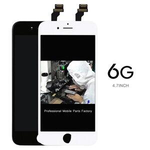 Image 1 - AAA לא מת פיקסל 20 יח\חבילה מסך 4.7 digitizer עבור iPhone 6 Lcd תצוגת עצרת החלפת מצלמה מחזיק