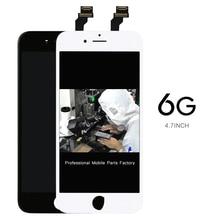 AAA pas de pixel mort 20 pcs/lot écran 4.7 numériseur pour iPhone 6 Lcd affichage assemblée remplacement support de caméra