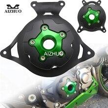 купить For Kawasaki Z750 Z 750 2007 2008 2009 2010 2011 2012 Motorcycle Stator Engine Guard Cover Protection Frame Slide Protector по цене 5471.67 рублей