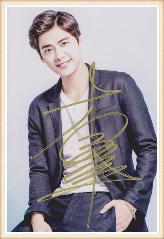 Эван li Yi Feng li yifeng с именной подписью с ручкой Аутентичные Фото 4*6 подарки Бесплатная доставка 05.2016 03