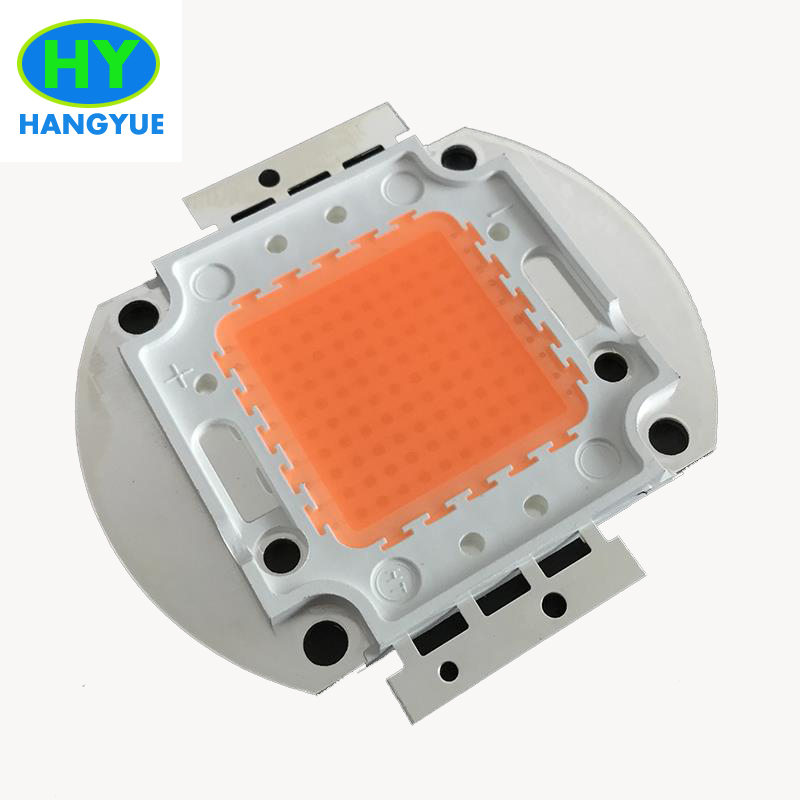 100w led replace 300w HPS, full spectrum 400nm~840nm led grow light chip for plant seedi ...