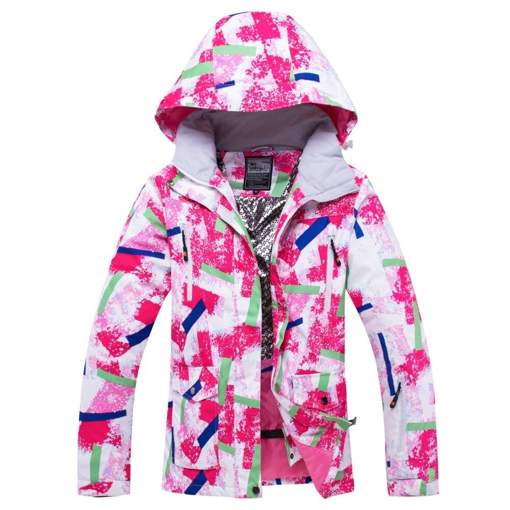 Nouveau costume de Ski femmes hiver imperméable coupe-vent Sportwear femme hiver veste de Ski et pantalon sangle neige ensemble snowboard costumes