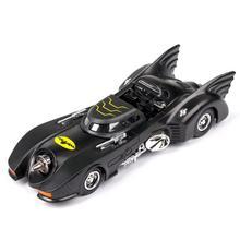 1:32 scale hot diecast car dc super hero dark knight batman batmobile wheel metal model pull back toy collection light and sound цена