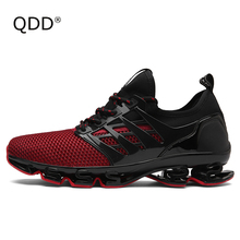 QDD Blade Series. New Men Running Shoes, Bow-Blade Wearable Sole Professional Athletic Sports Shoes, Cushioning Running Shoes