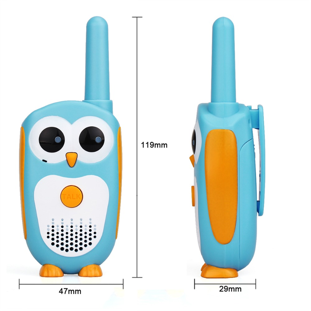 Image 4 - 2pcs Retevis RT30 Mini Walkie Talkie Kids Radio Station 0.5W PMR FRS UHF Radio 1 Channel 2 button Simplest Operate For Kids Toy-in Walkie Talkie from Cellphones & Telecommunications