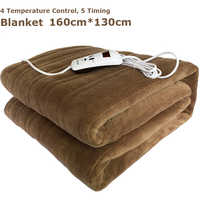 Waterproof Electric Blanket Double 220V Electric Heated Blanket Mat Single-control Dormitory Bedroom Heating Carpet