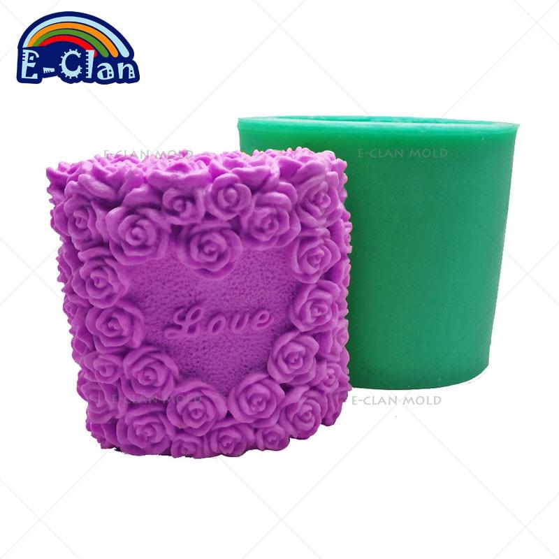 Leaf Buddha Silicone Soap Bar Mold for Handmade Melt /& Pour Soap 3.24 Oz Volume